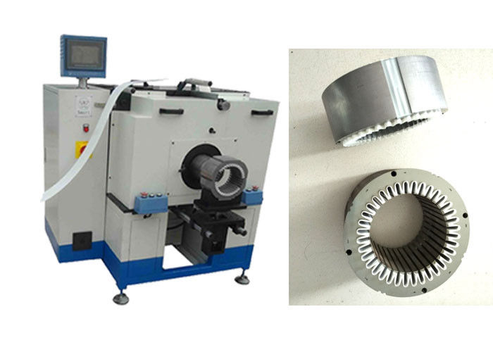 Fan Motor Stator Insulation Paper Inserting Machine / Slot Insulation Machine SMT - CW200